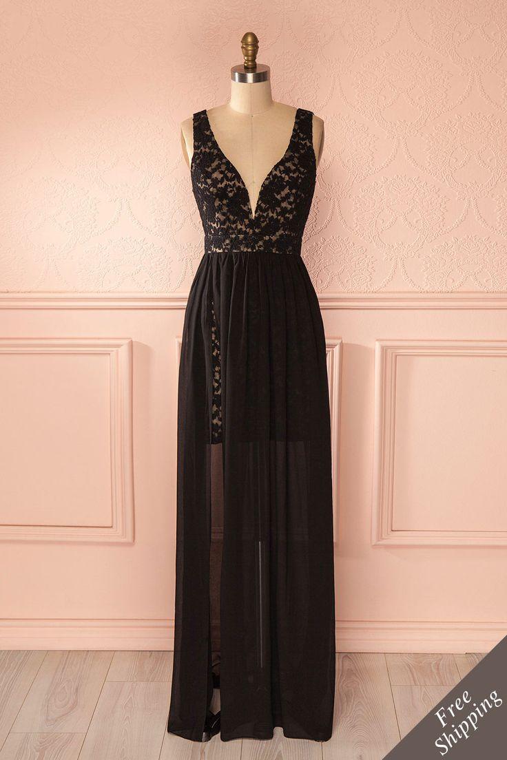 Avec cette robe longue et le vent soufflant dans vos cheveux défaits, vous aurez…