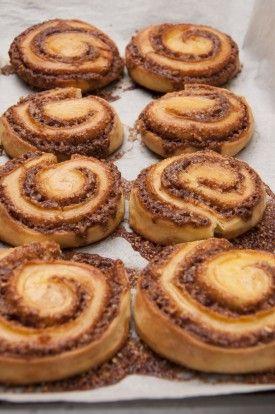 (Recipe in Romanian) Retete culinare: Rulouri cu scortisoara
