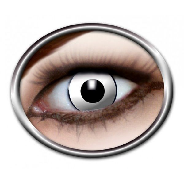 #Zombielinsen, #Weisse Kontaktlinsen