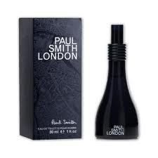 PAUL SMITH LONDON 1. OZ EAU DE TOILETTE SPRAY FOR MEN 'SEALED' by Paul Smith. $129.99. PAUL SMITH LONDON 1. OZ EAU DE TOILETTE SPRAY. 30ML SPRAY SEALED BOX. HARD TO FIND!. Paul Smith London Men was launched in 2004 together with the female perfume. It was designed by Antoine Lee. Its formula combines mint, violet flower and leaf, mandarin leaf and orange at the top, followed by vetiver, jasmine and lavender in the middle, drying down to the base of amber, Tonka be...