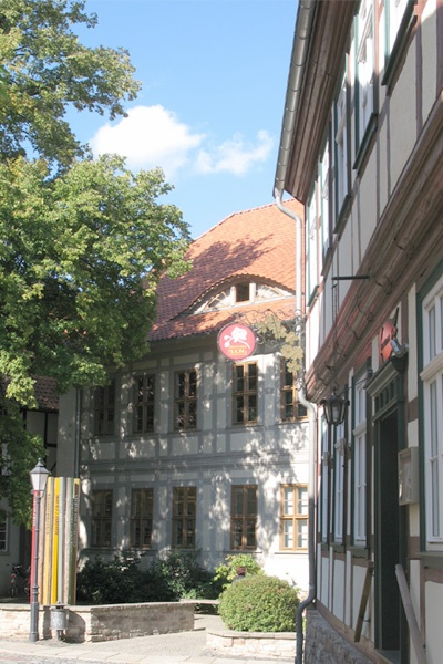 Blick auf das Harzmuseum der Stadt Wernigerode.