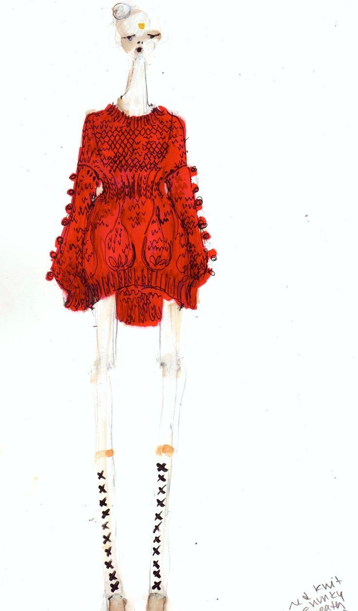 amanda henderson knits / illustration
