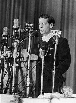 On March 19Th 1948, King Michael Of Romania Who Abdicated On December 30,1947, Explains The Reasons Of His Leaving Power To The Press At New York'S Waldorf Astoria Hotel.