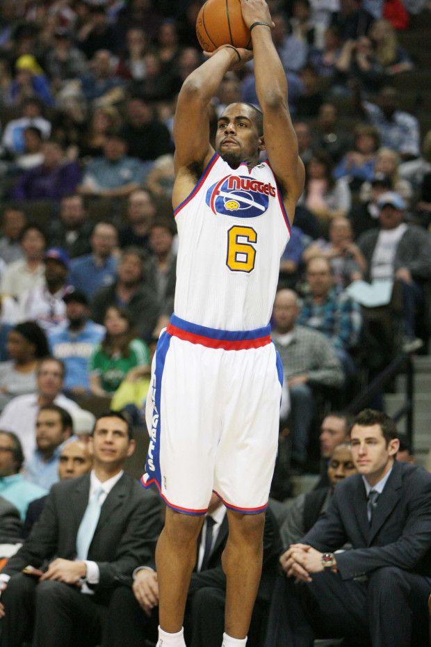 NBA Hardwood Classics, Arron Afflalo, Denver Nuggets.