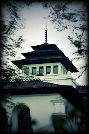 """it is symbol of Bandung city call """"Gedung Sate"""" :D"""