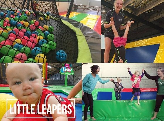 Kids Trampoline Park - Little Leapers trampoline sessions at Leap Indoor Trampoline Park are just for toddlers & preschool kids under 4 yrs. They can enjoy the main tramp park without the bigger kids around  :) - #Hamilton #NZMums #KiwiKids #NZKids #kidsactivities #kidsfun
