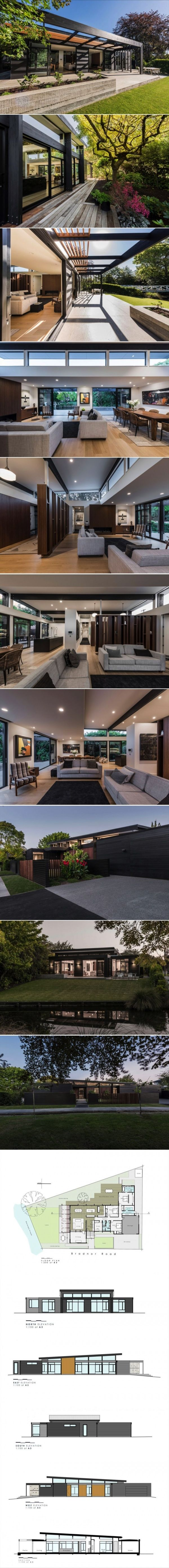 Cymon Allfrey Architects Ltd Design a Light and Open Contemporary Interior in New Zealand | HomeDSGN