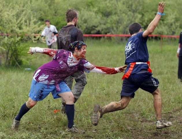 Zombie Tag?  Might be a fun game for the teens.