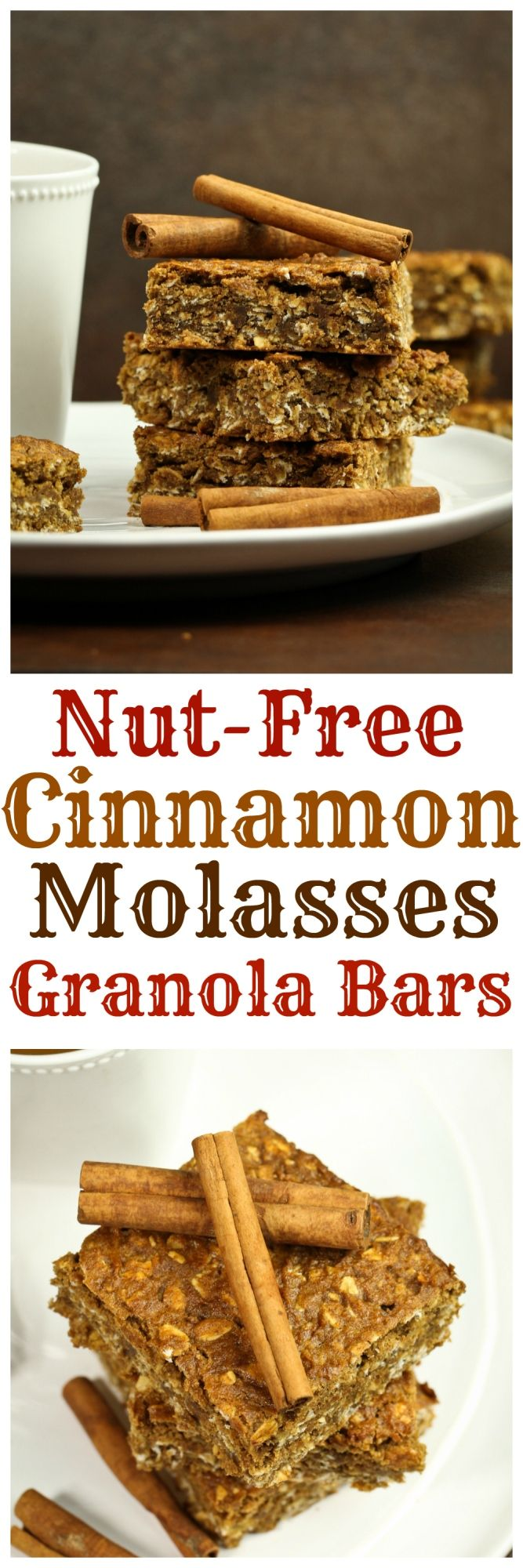 My new addiction right here....these. Omg, I literally moaned eating these bars. I'm so excited to share this recipe. These are super soft, chewy, almost like a soft cookie. They have a warm cinnamon flavor and scent and the perfect touch of molasses. Can you believe it's been 5 posts and a month and a half since I last posted