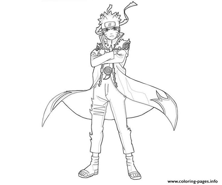 awesome naruto coloring pages printable and coloring book to print for free find more coloring pages online for kids and adults of awesome naruto coloring - Naruto Coloring Book