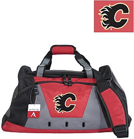 Antigua duffel bag - specifically made for all the @Calgary Flames diehards out there!