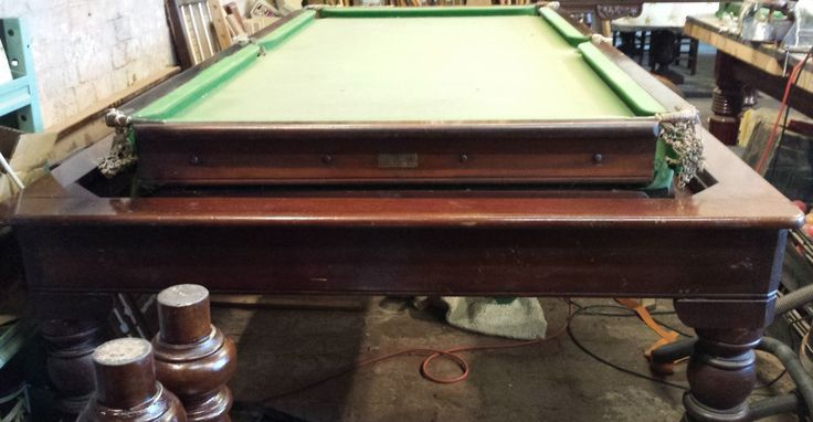 Antique Snooker Dining Tables For Sale 10 Handpicked