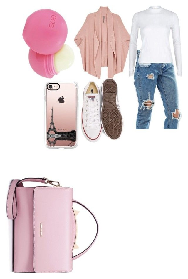 """Untitled #39"" by adine233 on Polyvore featuring ASOS, Melissa McCarthy Seven7, River Island, Converse, WithChic, Eos, Casetify and plus size clothing"