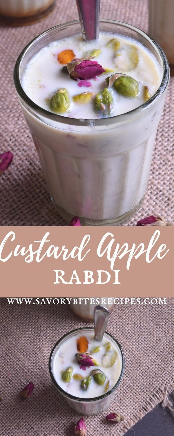 Flavorful Custard Apple Rabdi #custardapple #rabdi #desserts #sweet #easyrecipes #yummyfood #recipes