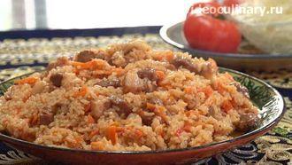 Рисовая каша с мясом (Шавля) рецепт от Видеокулинария.рф