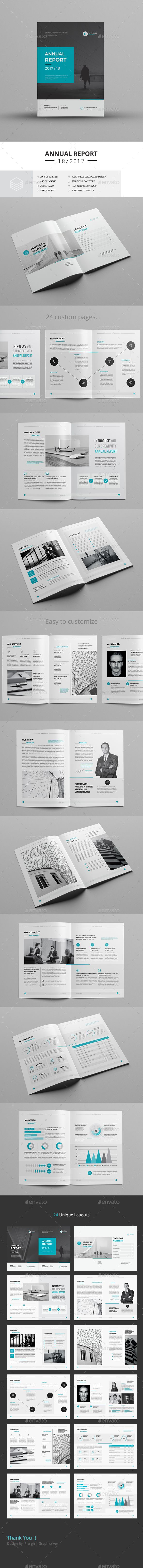 Annual Report — InDesign INDD #design #8.27x11.69 • Download ➝ https://graphicriver.net/item/annual-report/19523781?ref=pxcr