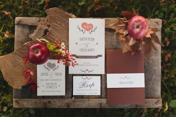 {Inspiration shoot} Un matrimonio rustic chic in autunno | Wedding Wonderland