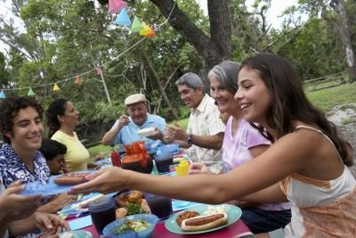 Ideas on What to Do at Three-Day Family Reunions - suggests banquet with introductions early in reunion.  bbq, brunch. Family storytelling time.  Guess who game.