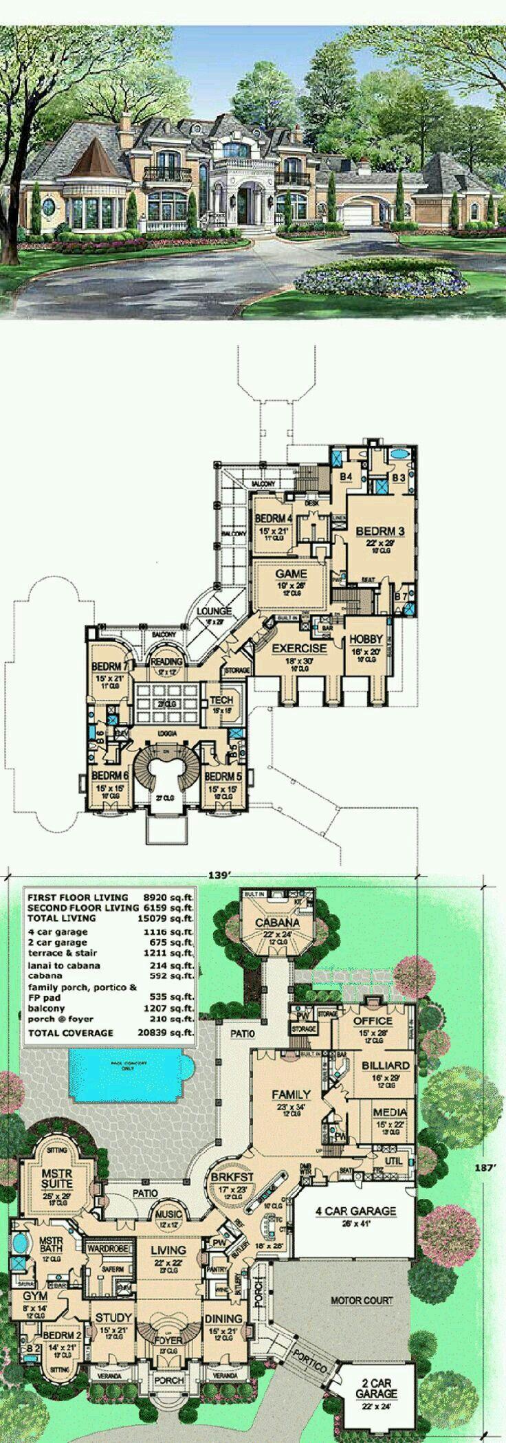 25 b sta castle house plans id erna p pinterest for House plans alberta