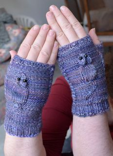 Are your fingers squeaky? Well they will be, in these adorable gloves. They will keep your fingers warm and keep you company, and they don't even need to be fed.