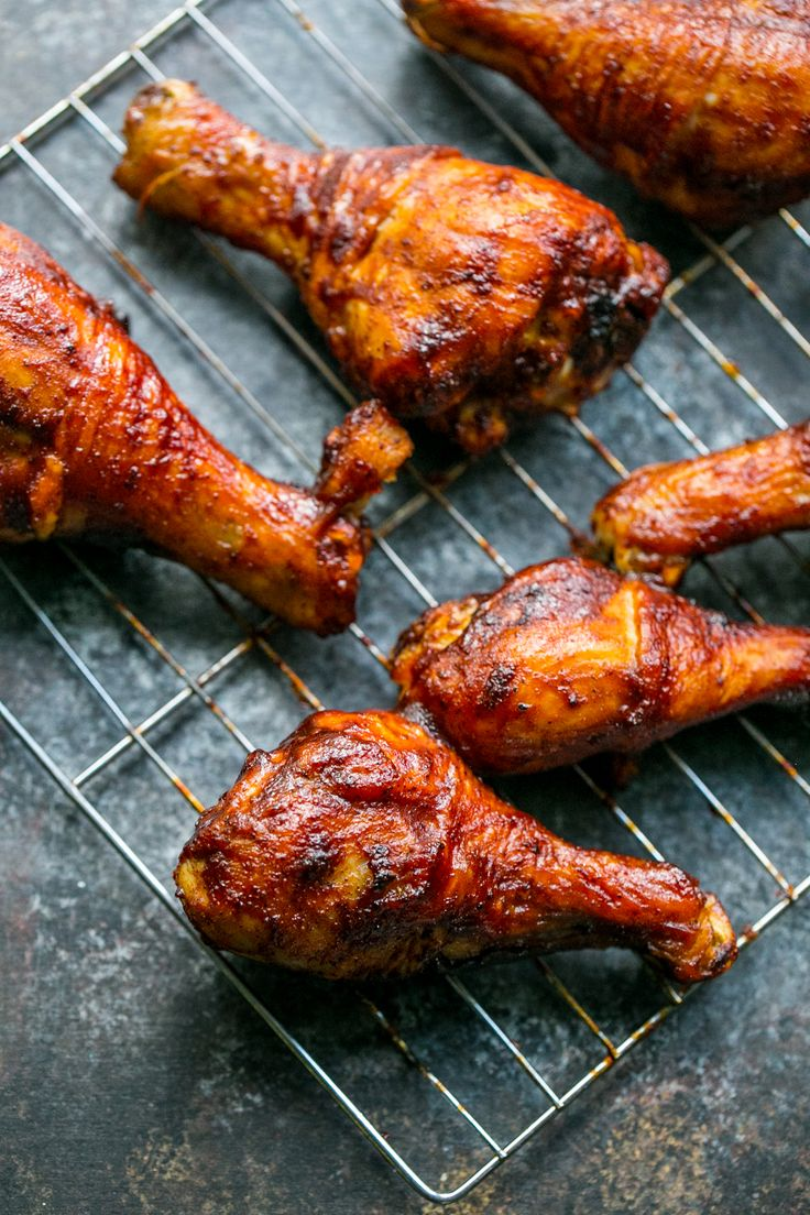 Crunchy baked bbq chicken drumsticks with a crisp and slightly sticky bark are an easy, delicious main dish that are perfect for picnics, parties, and cookouts!  I can't believe it is alread…