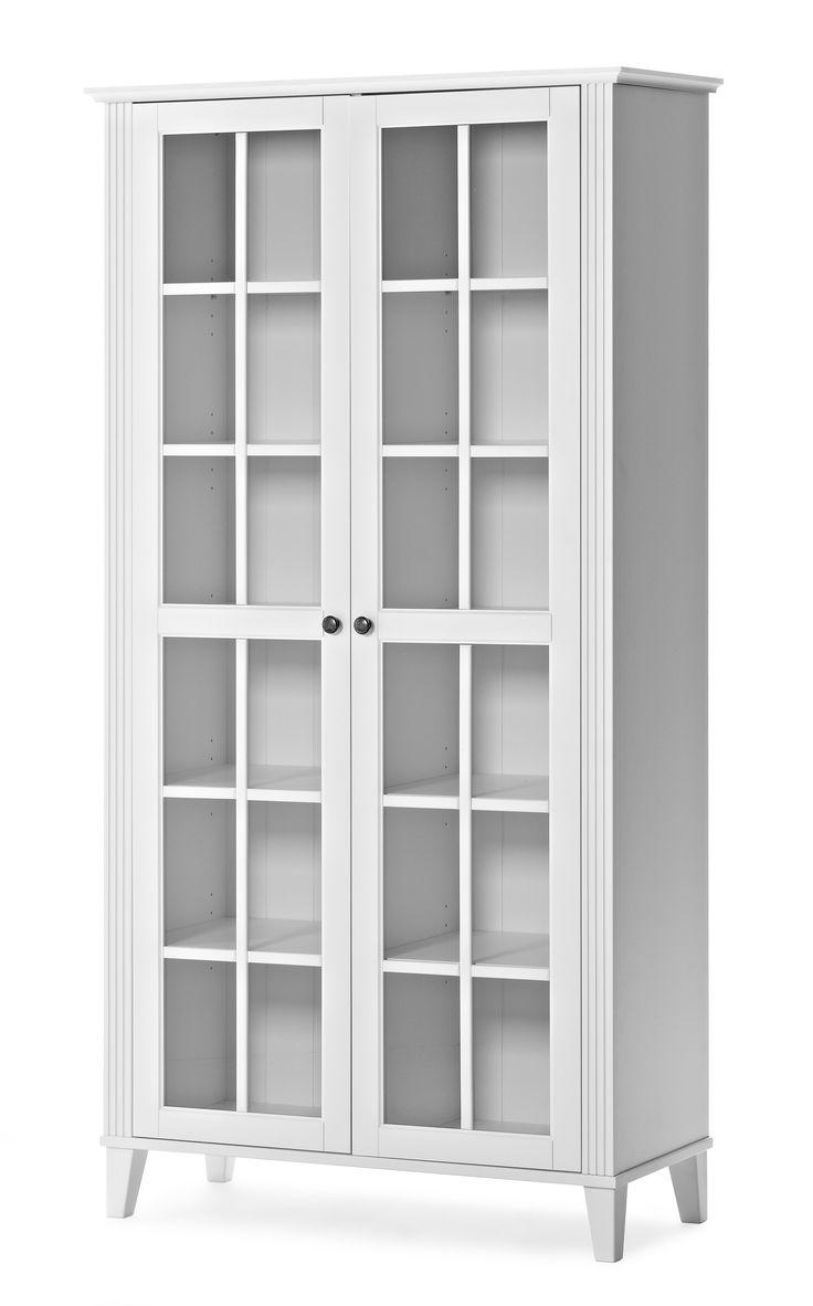 Garderob garderobsdörrar 60 cm : The 25+ best VitrinskÃ¥p ek jysk ideas on Pinterest   MÃ¥la om ...