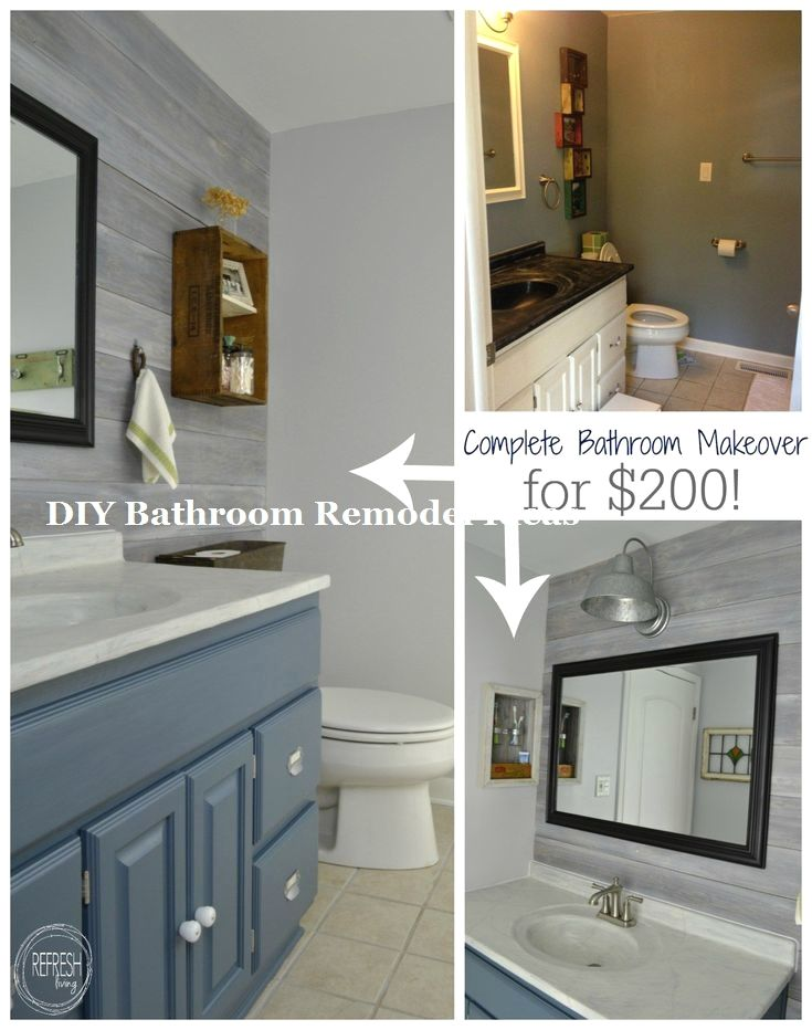 Great Easy Diy Bathroom Remodeling Makeover Diybathroom