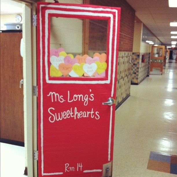 Classroom Decoration For Valentines : Valentine door decorations for kindergarten classroom