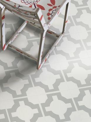 Parquet Vinyl Floor Tile - Stone from the Neisha Crosland Portfolio. #NeishaCrosland
