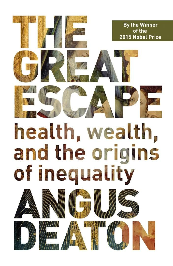 Image result for the great escape book angus deaton