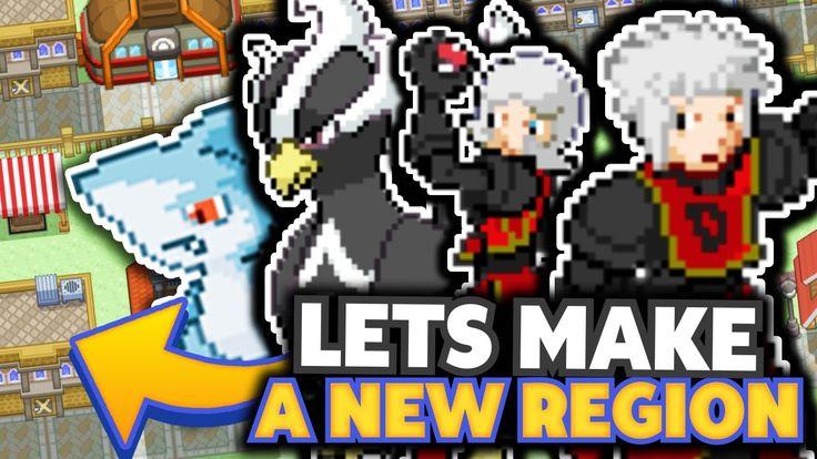 Let's Make A New Pokemon Region? (My Pokemon Region) #04