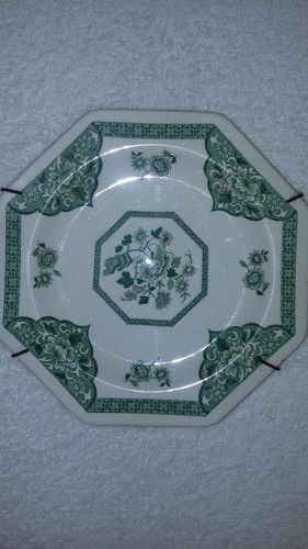 Buy ROYAL STAFFORDSHIRE WHITE & GREEN FLORAL DESIGN SIDE PLATE for R1.00
