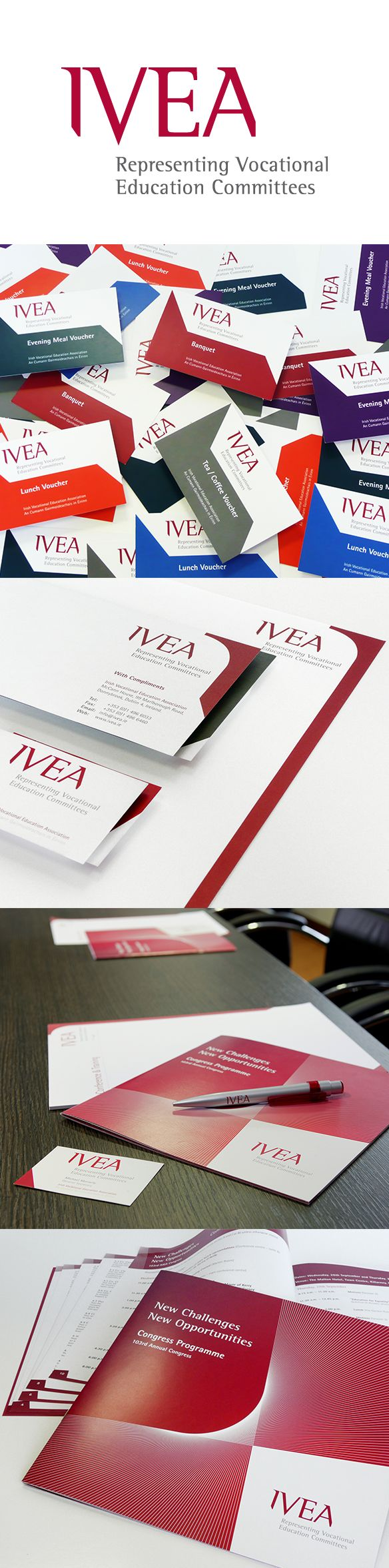 IVEA - Identity, brochure, Stationery etc. www.akgraphics.ie