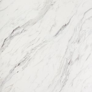 Marble Effect Worktop Upstand - Calcutta - 3000 x 95 x 12mm