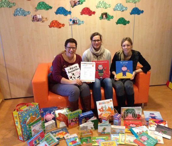Voorlezen blijft belangrijk met name in de kinderopvang