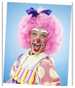 her professional clown | Clown West Dunbartonshire - Clowns for Hire