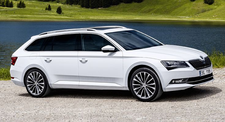 Check Out The Skoda Superb Combi In 58 New Photos