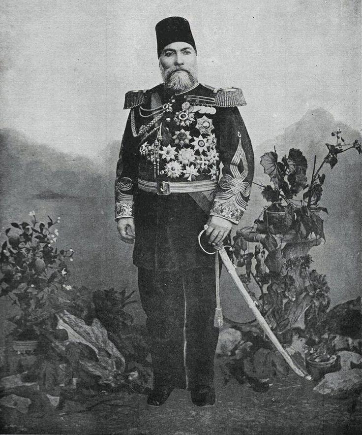 OTTOMAN GENERAL GHAZI OSMAN PASHA Plevne Müdafii Gazi Osman Paşa