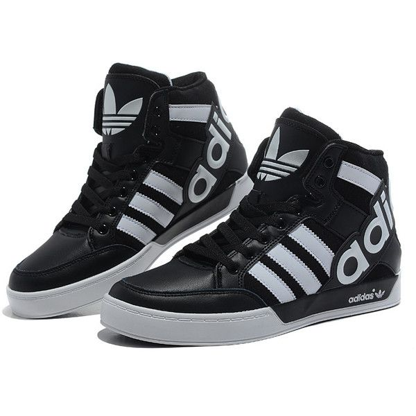 Fashion Large Discount Black White Adidas Originals City Love 3 Generations  High Top Shoes Women found