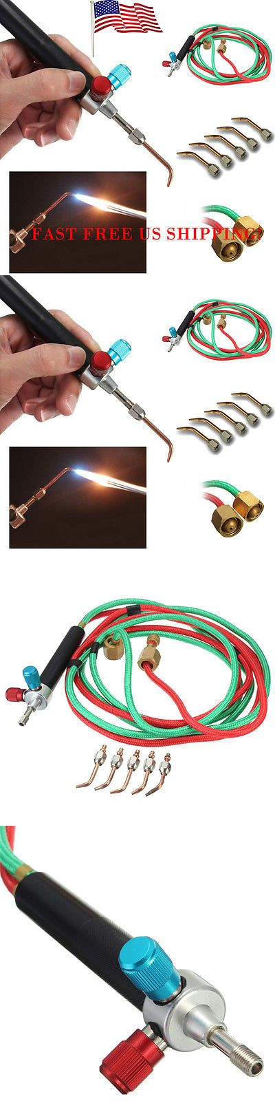 Soldering Tools and Accessories 179261: New Mini Micro Gas Jewelers Torch Welding Soldering Jewelry + 5 Tips Usa Little -> BUY IT NOW ONLY: $38.49 on eBay!