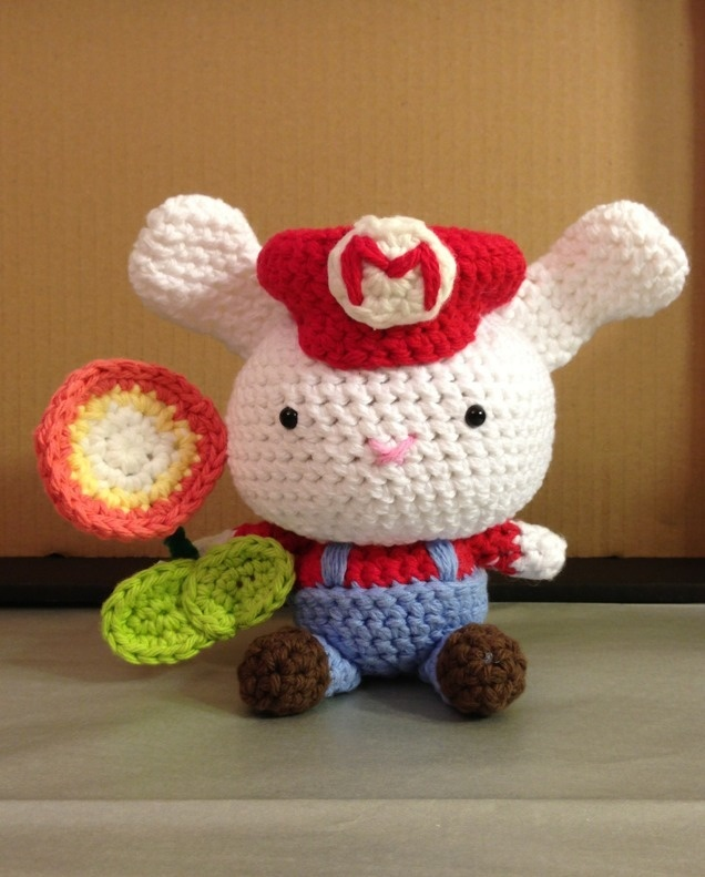 Crochet Jobs : ... job on Pinterest Princess daisy, Amigurumi doll and Pixel crochet