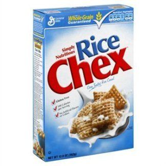Image result for chex oven toasted rice cereal