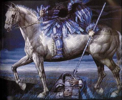 Saint George by David Manzur, Colombian Artist,1987