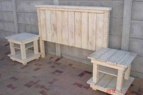 Love this for bedroom set. knotty pine headboard white wash - Google Search