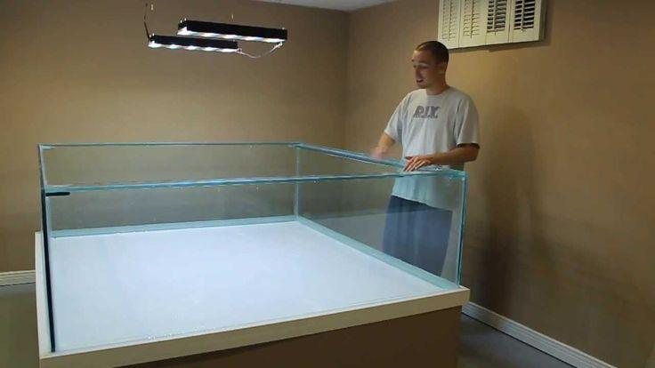 HOW TO: Build A Large Aquarium 4/6
