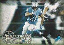 2014 Topps Fantasy Focus #FF-RB Reggie Bush, Detroit Lions