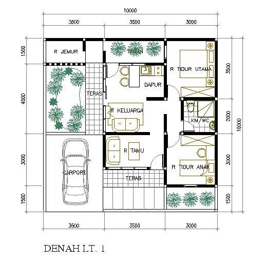 Rumah Mungil di Lahan 10 x 10 M2 - Eramuslim
