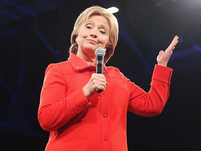 """Democratic presidential frontrunner Hillary Clinton has a new honorific title: """"Worst Ethics Violator of 2015."""" The Foundation for Accountability and Government Trust (FACT), a Washington-based think tank, released a year-end list of Worst Ethics Violators for this ill-begotten calendar year. Clinton ran away with the contest."""