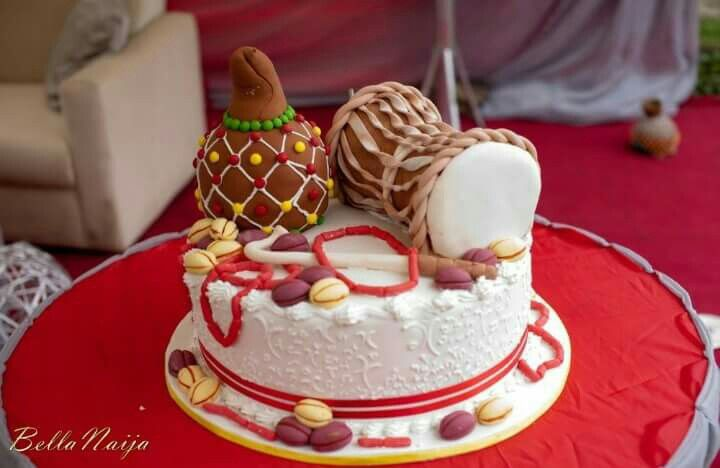 African inspired cake