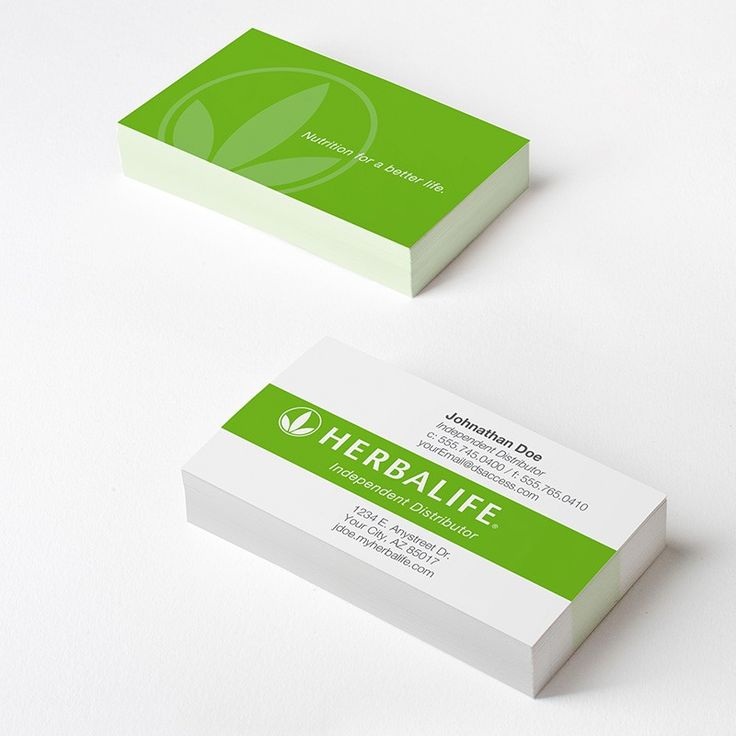 12 best Herbalife Business Cards images on Pinterest | Cards ...